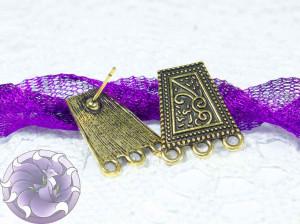 Швензы-гвоздики №20 Цвет черненое золото