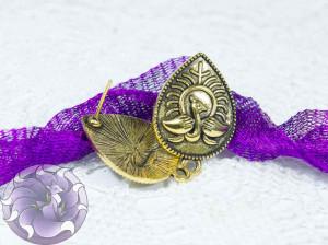 Швензы-гвоздики №22 Цвет черненое золото