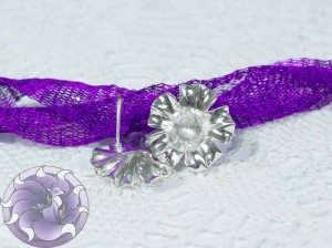 Швензы-гвоздики №27 цвет серебро