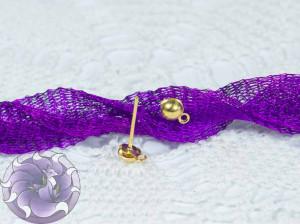 Швензы-гвоздики №46 Цвет золото