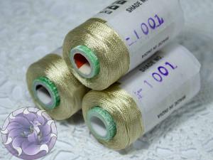 Нитки вискоза для кистей 150D/2 500м цвет №1001