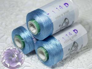 Нитки вискоза для кистей 150D/2 500м цвет №114D