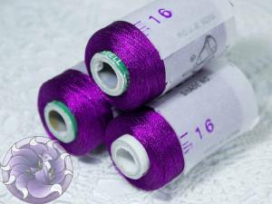 Нитки вискоза для кистей 150D/2 500м цвет №16