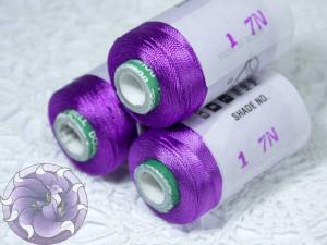 Нитки вискоза для кистей 150D/2 500м цвет №17N