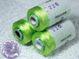 Нитки вискоза для кистей 150D/2 500м цвет №226