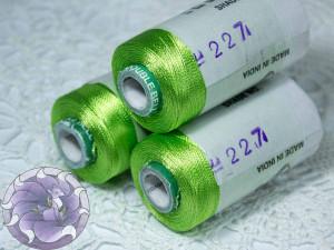 Нитки вискоза для кистей 150D/2 500м цвет №227