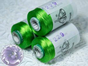 Нитки вискоза для кистей 150D/2 500м цвет №229