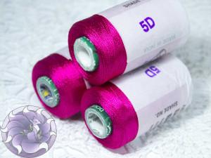 Нитки вискоза для кистей 150D/2 500м цвет №5D