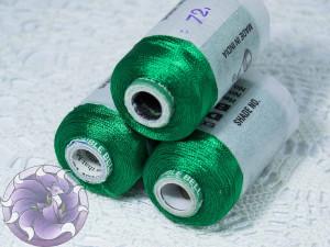 Нитки вискоза для кистей 150D/2 500м цвет №72