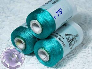 Нитки вискоза для кистей 150D/2 500м цвет №75
