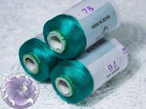Нитки вискоза для кистей 150D/2 500м цвет №76