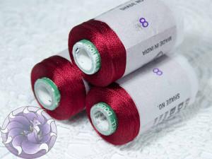 Нитки вискоза для кистей 150D/2 500м цвет №8