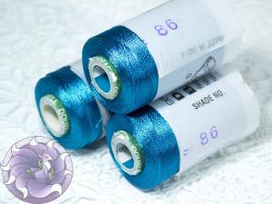 Нитки вискоза для кистей 150D/2 500м цвет №86