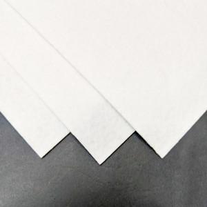Фетр Жесткий толстый 2 мм А4 White