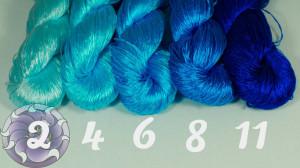Шелковые нитки для вышивки, мулине шелк №29